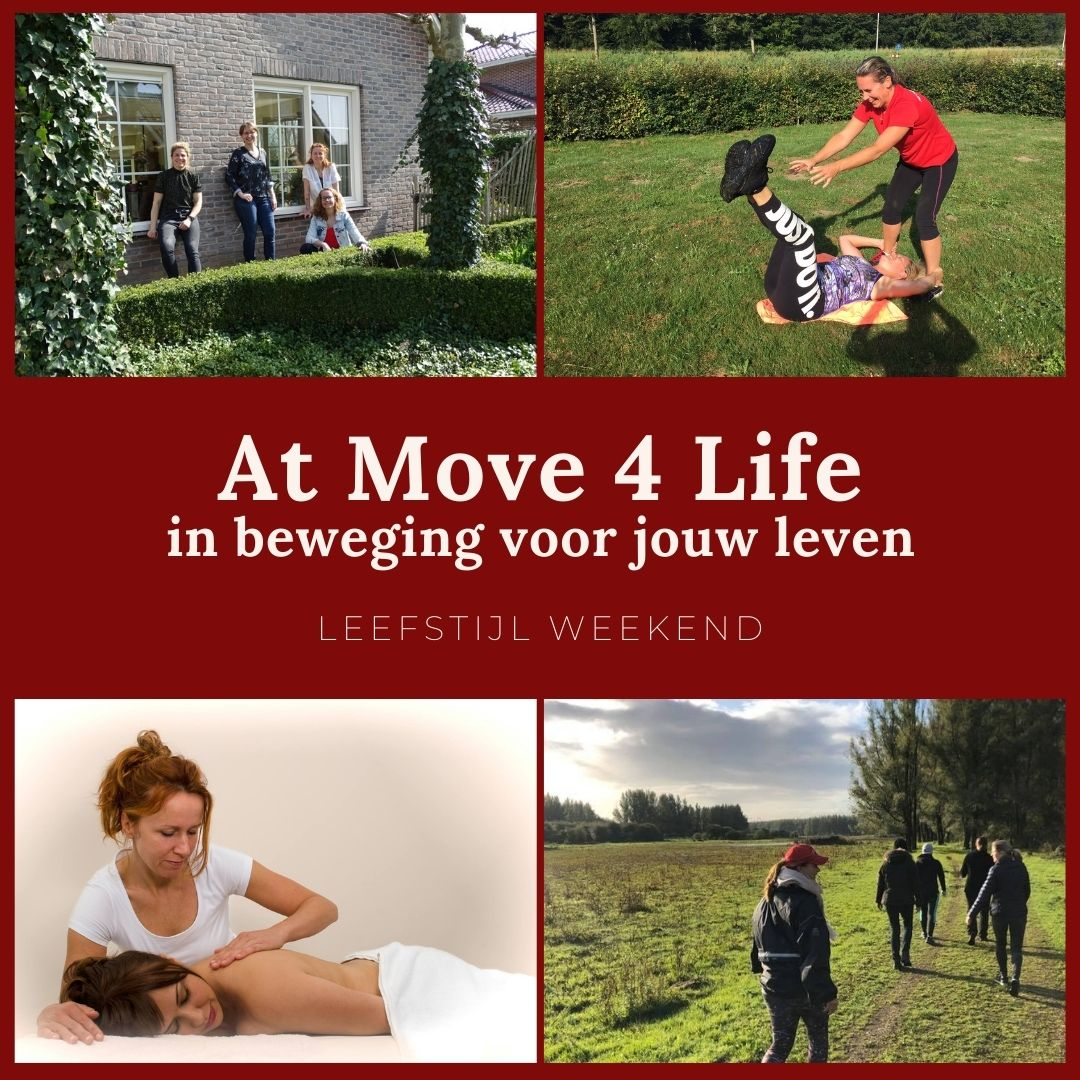 Geniet van een bijzonder weekend weg met At Move 4 Life